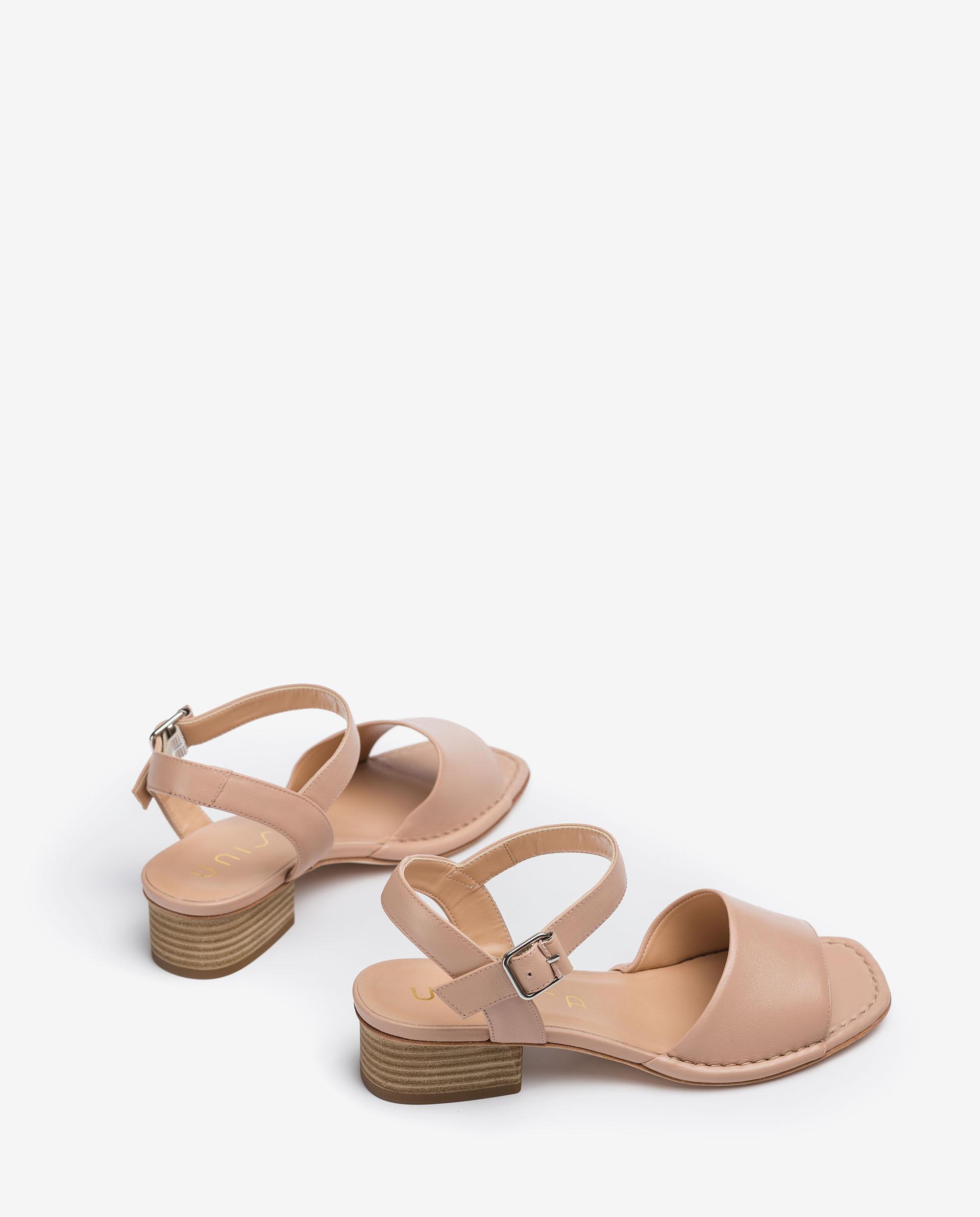 UNISA Mule type leather sandals JUSA_MOA 2