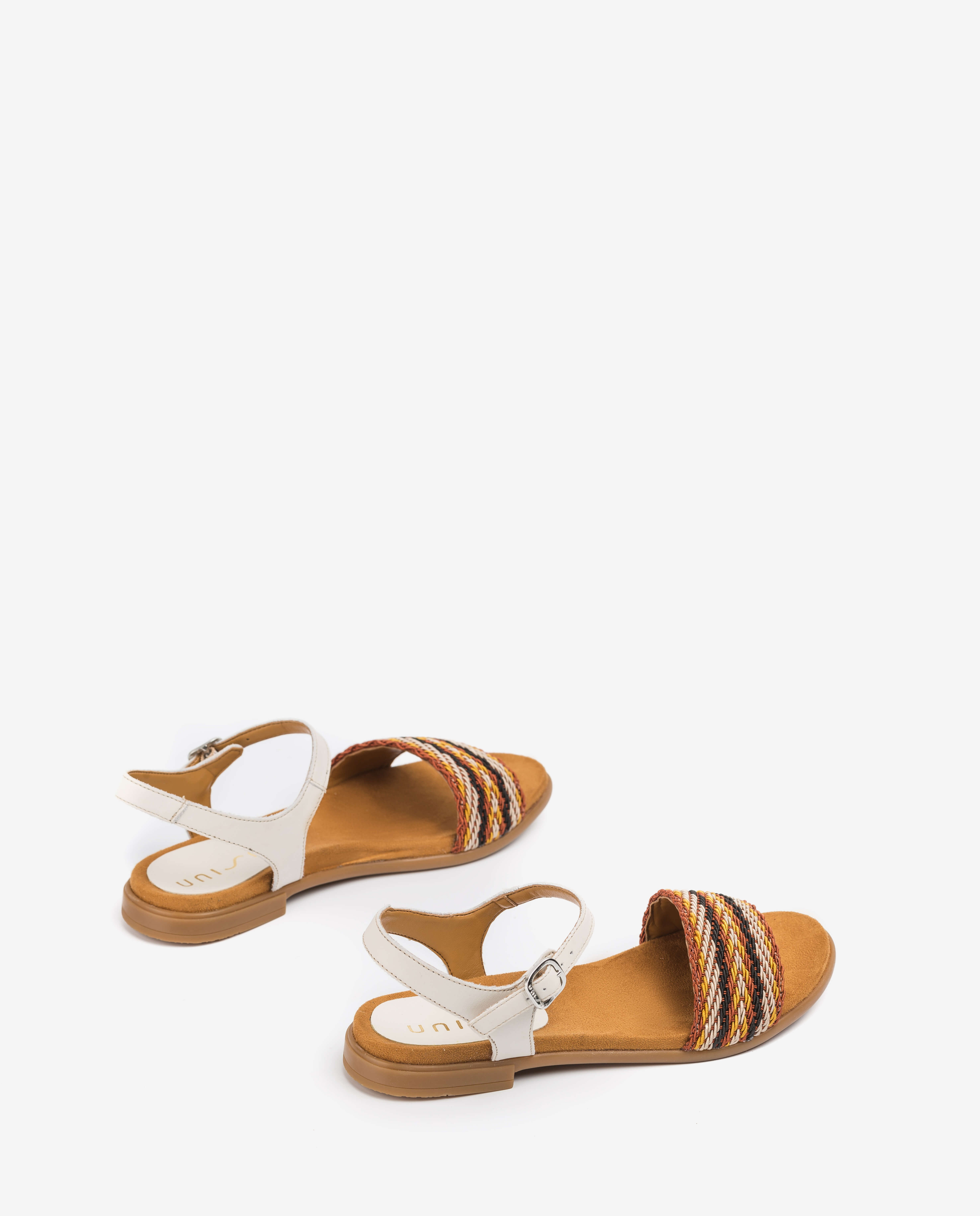 UNISA Little girl braided sandals LINTA_NF_CAN ivory 2