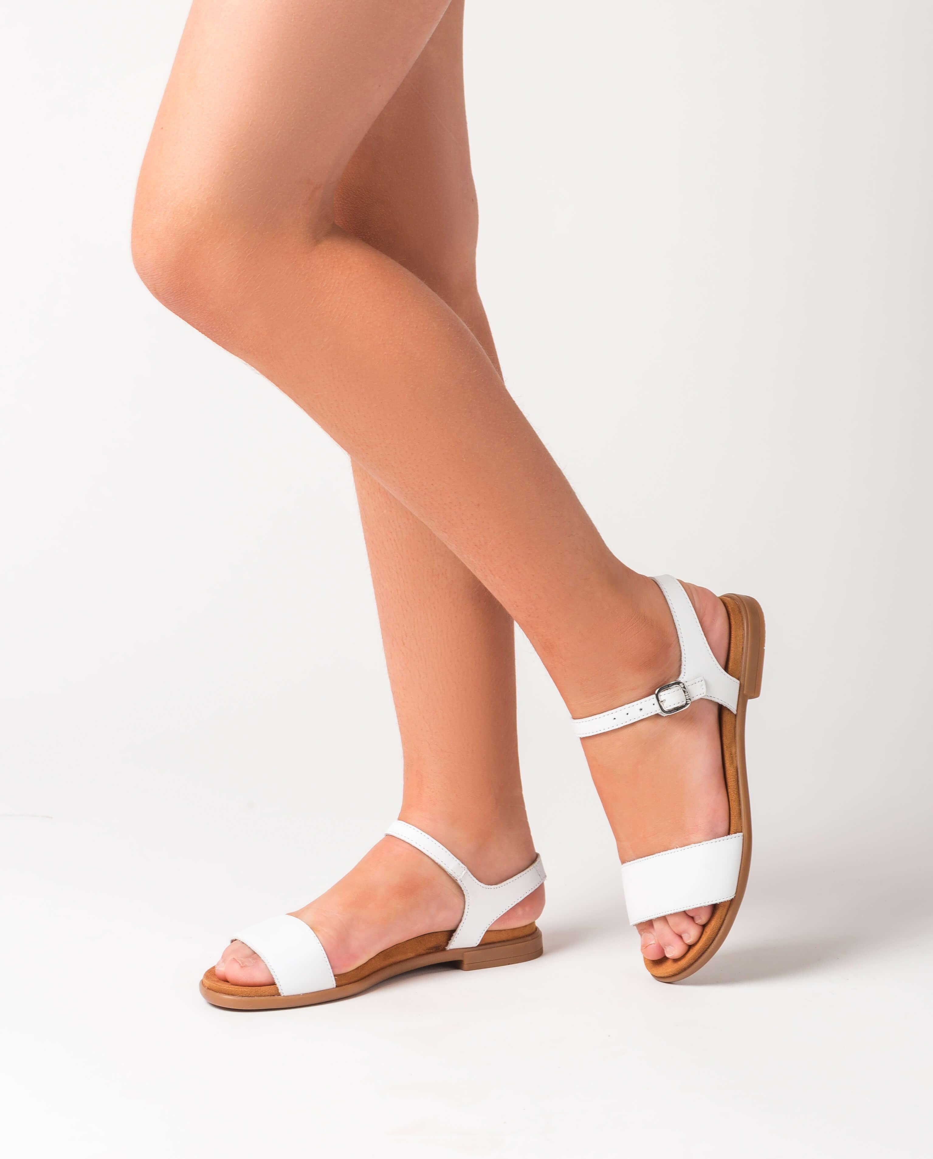UNISA Little girl white sandals LIRITA_20_C_NT_CAN white 2