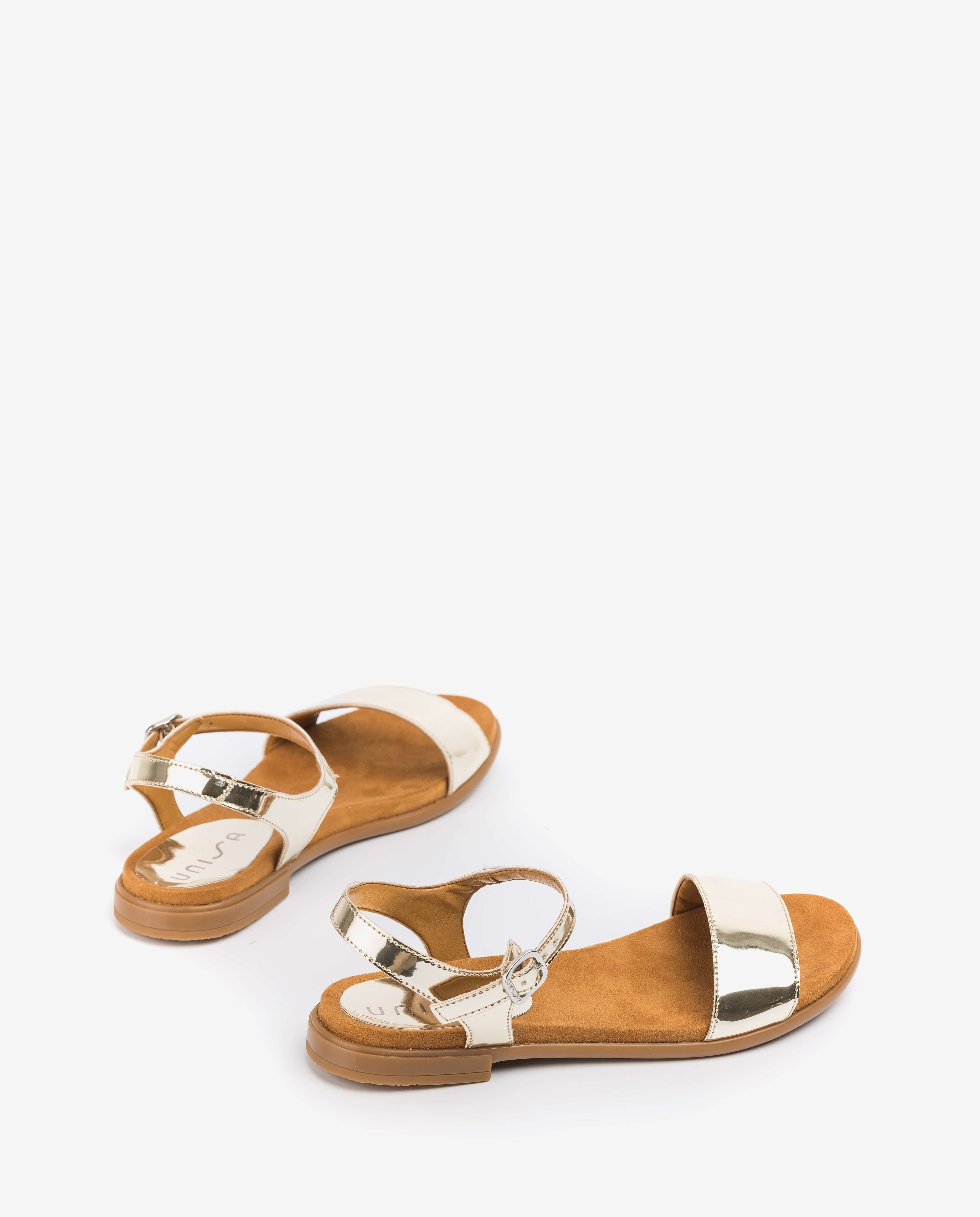 UNISA Little girl silver sandals LIRITA_20_C_SP_CAN platino 2