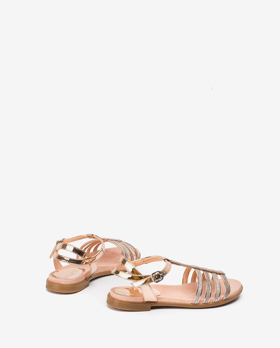 UNISA Little girl silver straps sandals LOTRE_20_SP ballet 2