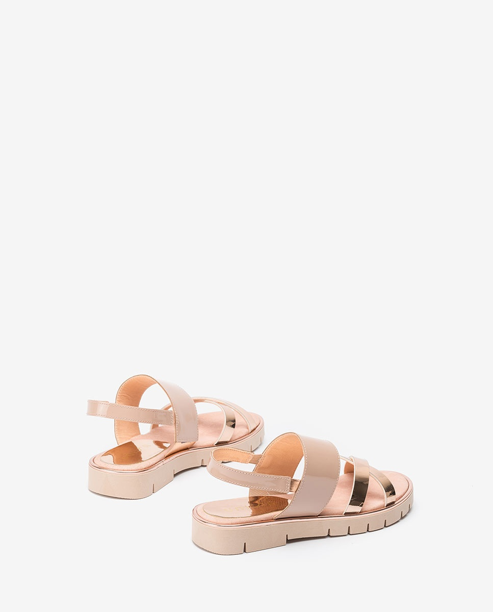 UNISA Little girl pink contrast sandals NOLES_C_SP_PA ballet 2