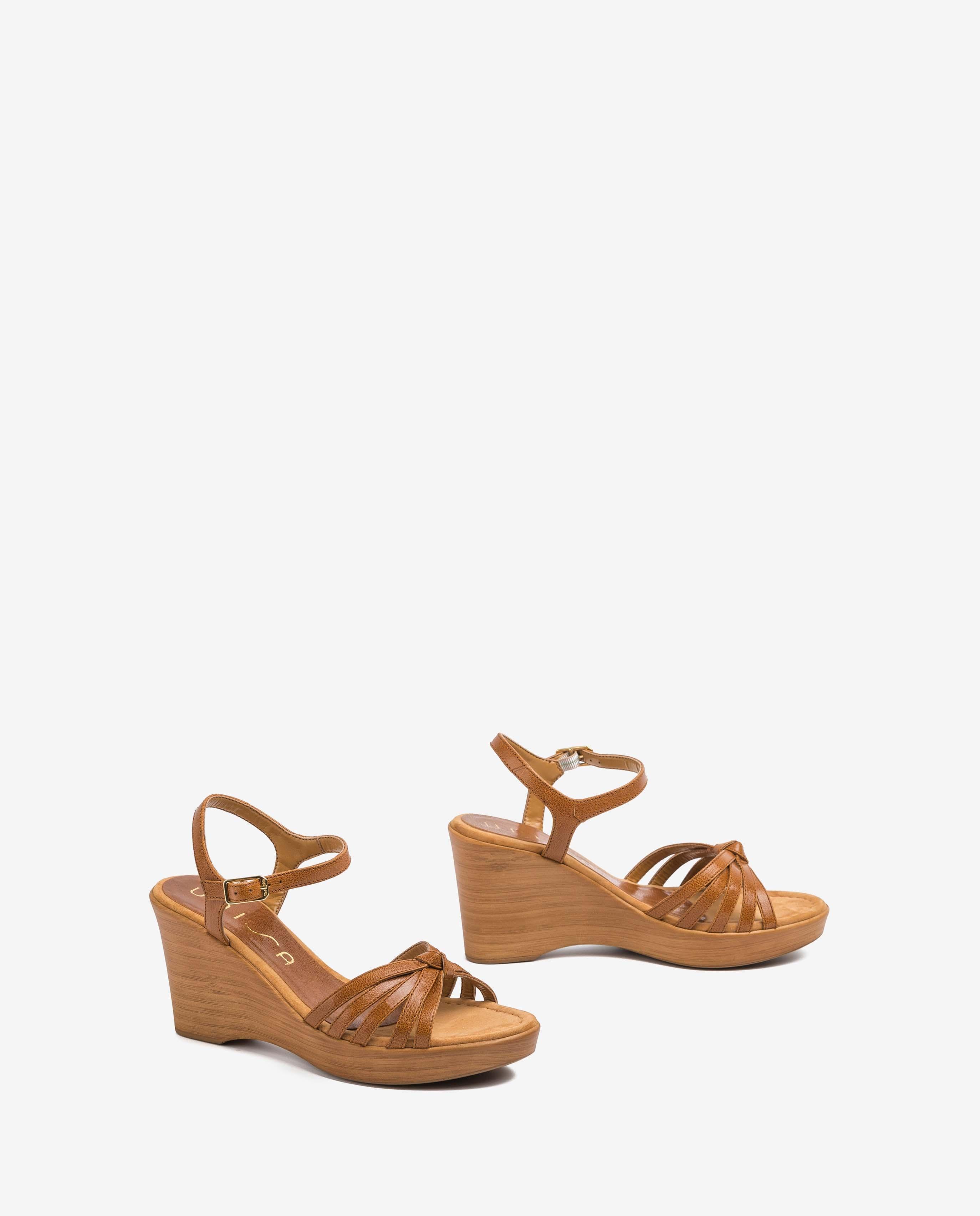 UNISA Brown straps sandals RAMIREZ_GCR saddle 2
