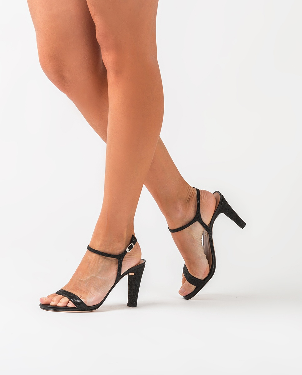 UNISA Contrast heel sandals SAMUEL_EV_NA black 2