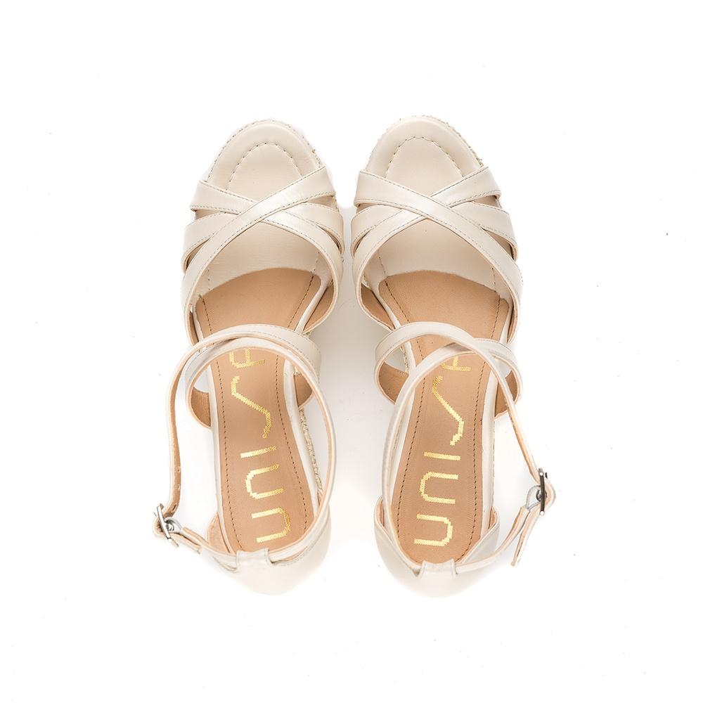 UNISA Bride wedge sandal LILLE_NA_N bone 2
