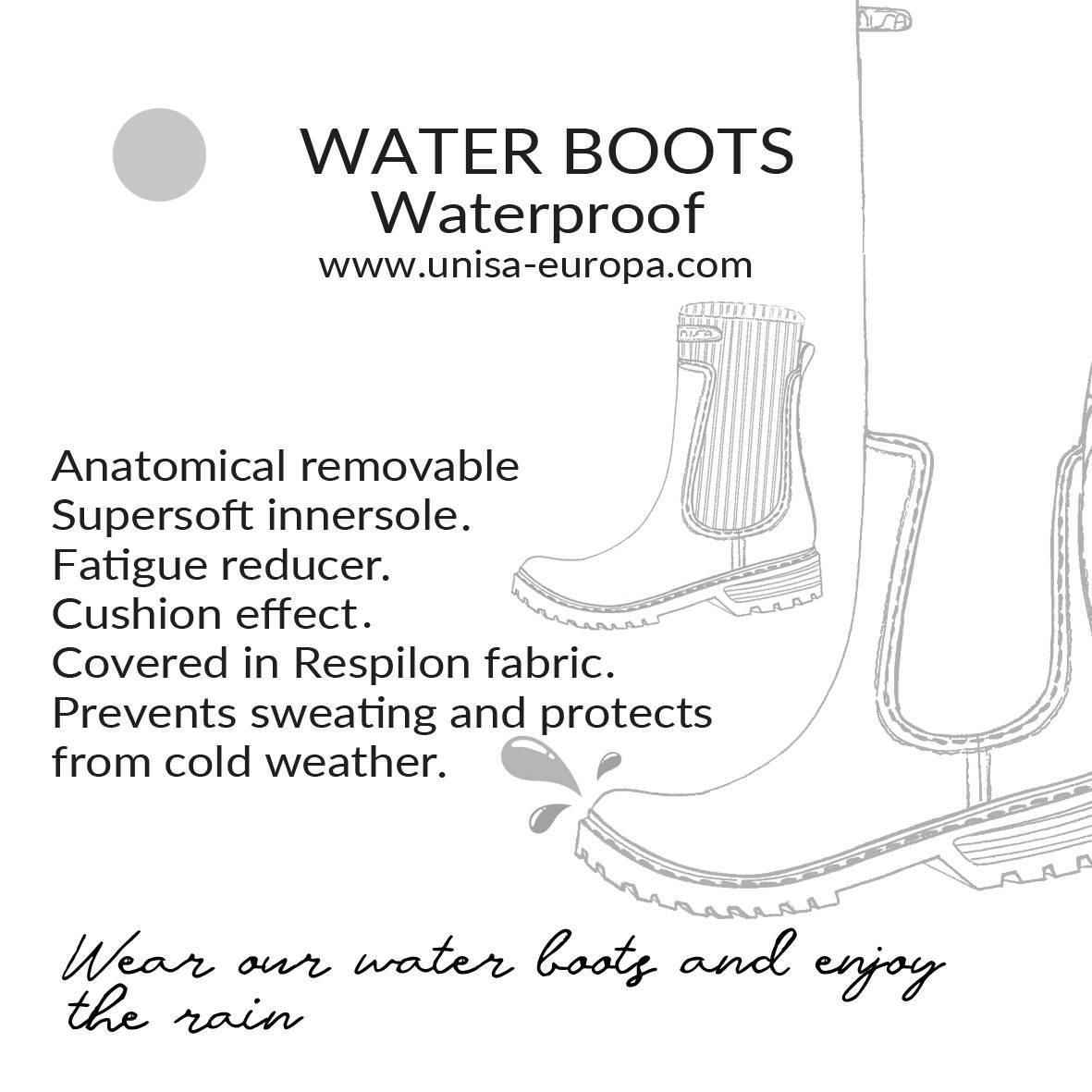 Unisa Ankle boots AYNAR_F21_RIB black