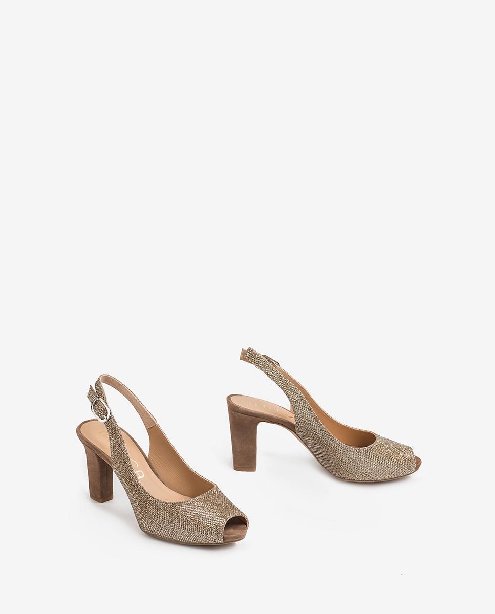 UNISA Shine peep toe slingbacks NICKA_CLAS_20_EV_KS mumm 2