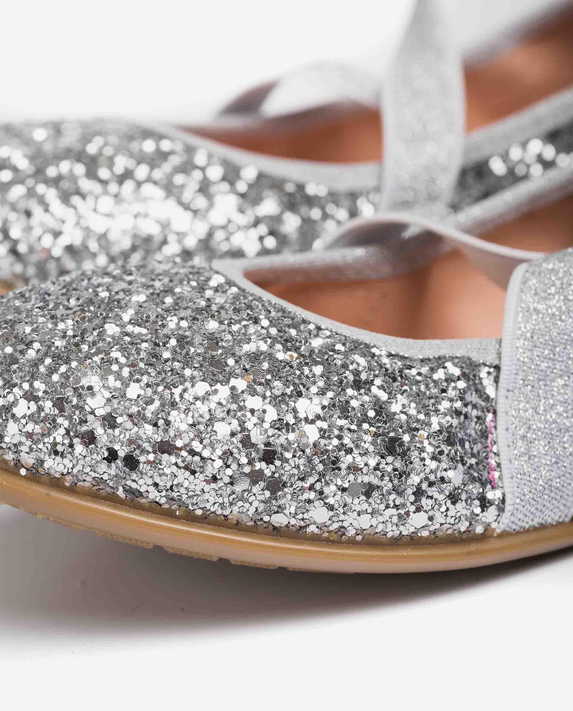 UNISA Bailarina niña elástico glitter SILVIO_21_GL