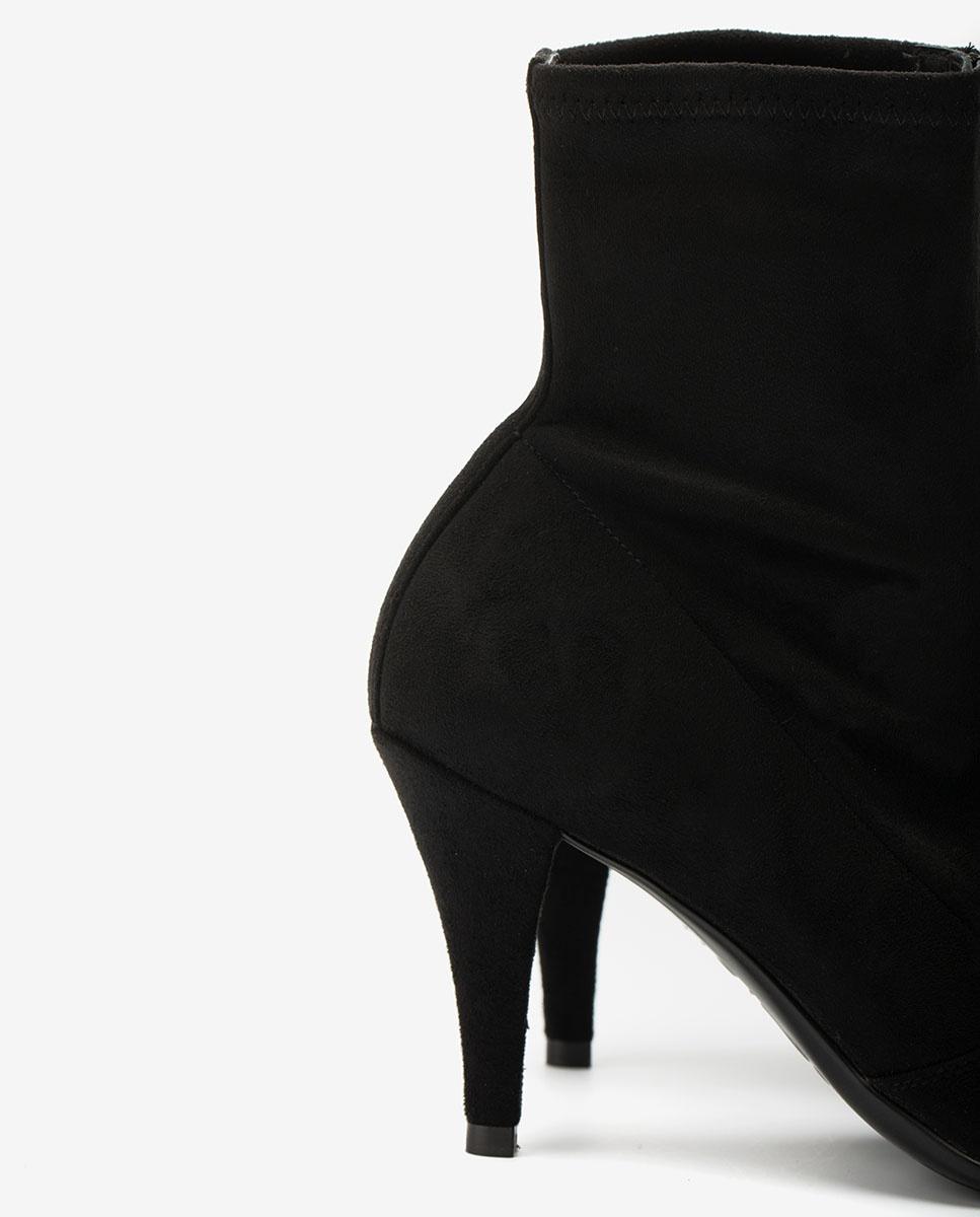 UNISA Botín elástico negro TRILLO_STL black