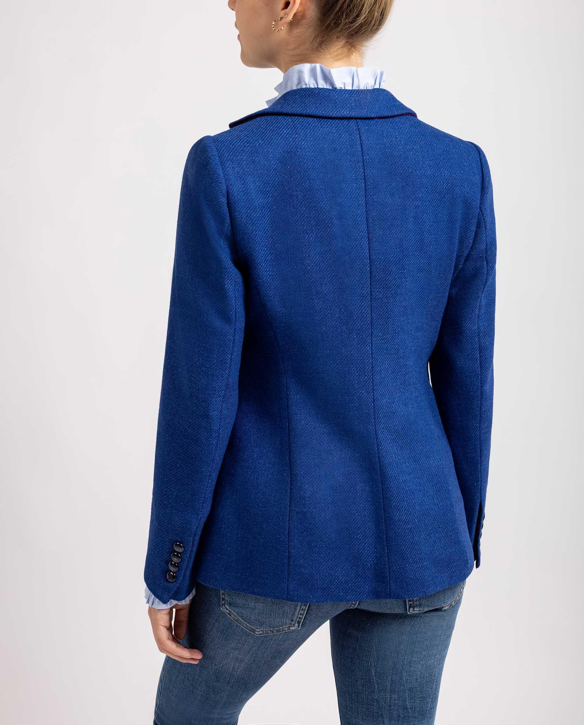 UNISA Blazer de lana estampada R_BALBONA