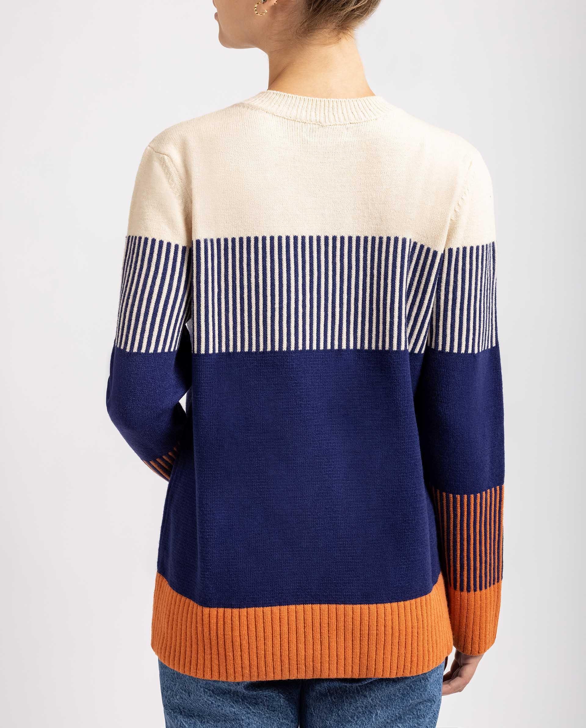 UNISA Jersey de cuello redondo R_MACAEL