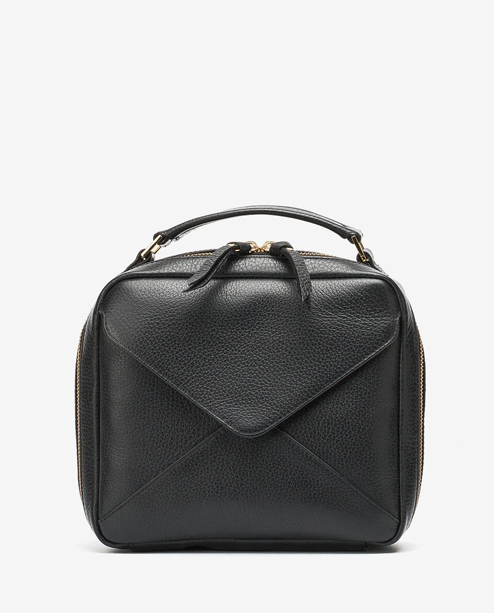 UNISA Bolso pequeño de mano tipo caja ZETICO_MM black