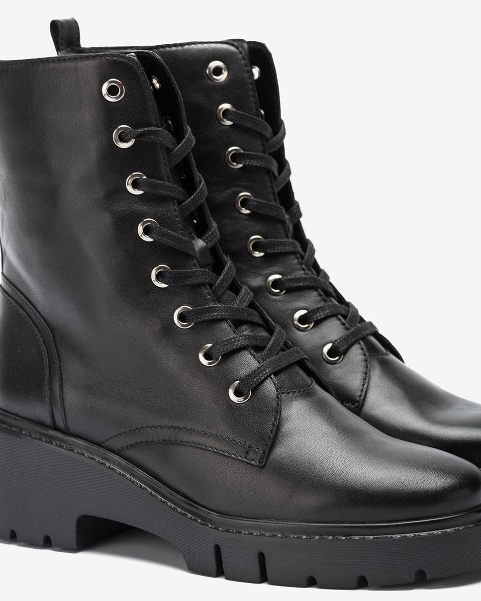 UNISA Botín militar negro JRISO_VU black