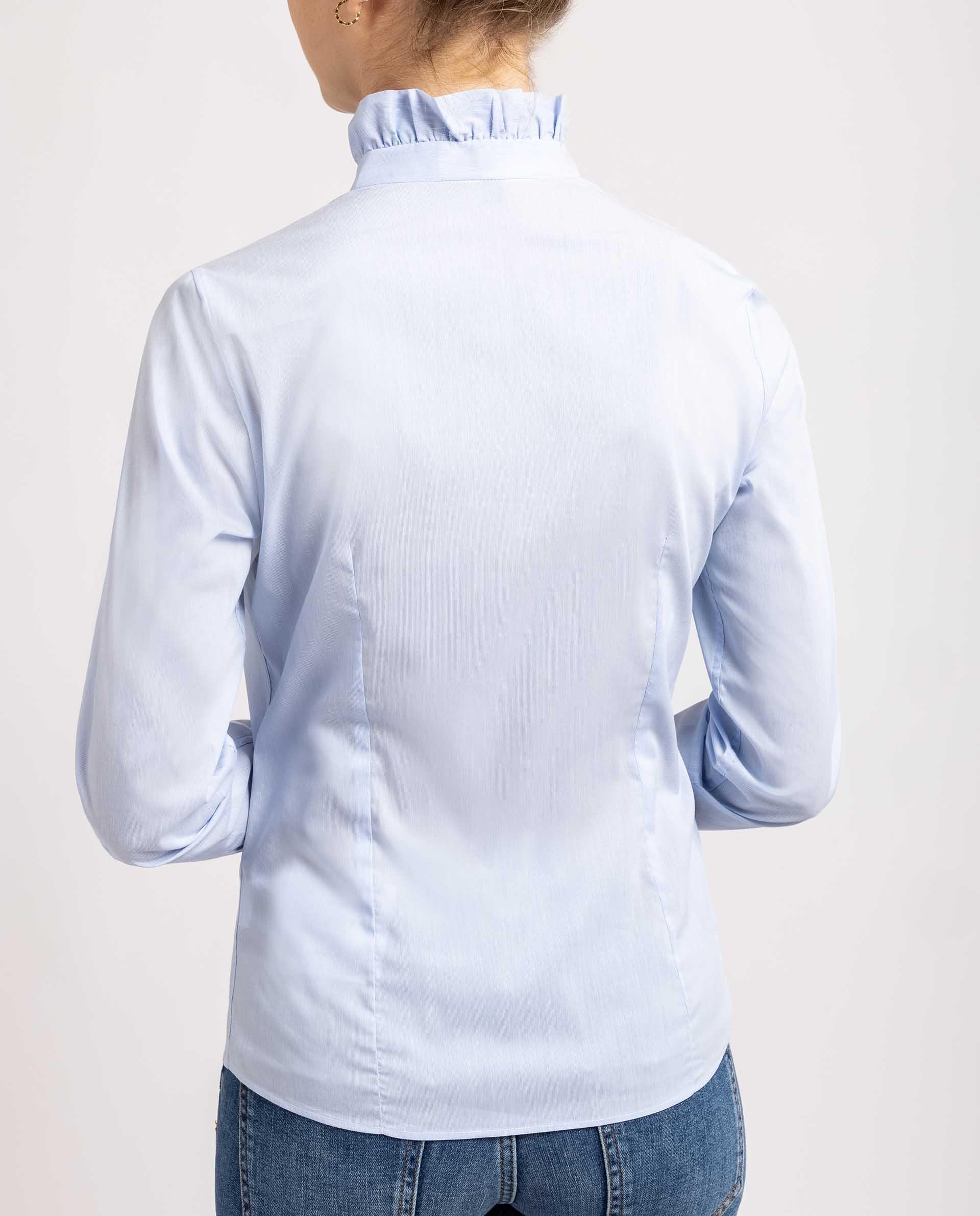 UNISA Camisa entallada con volante R_LUCAR