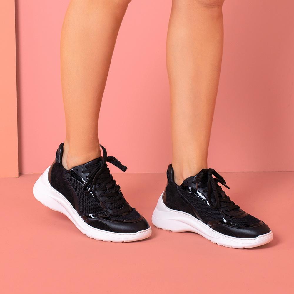 UNISA Chaussure de sport contraste volume ESCACE_NT black 3