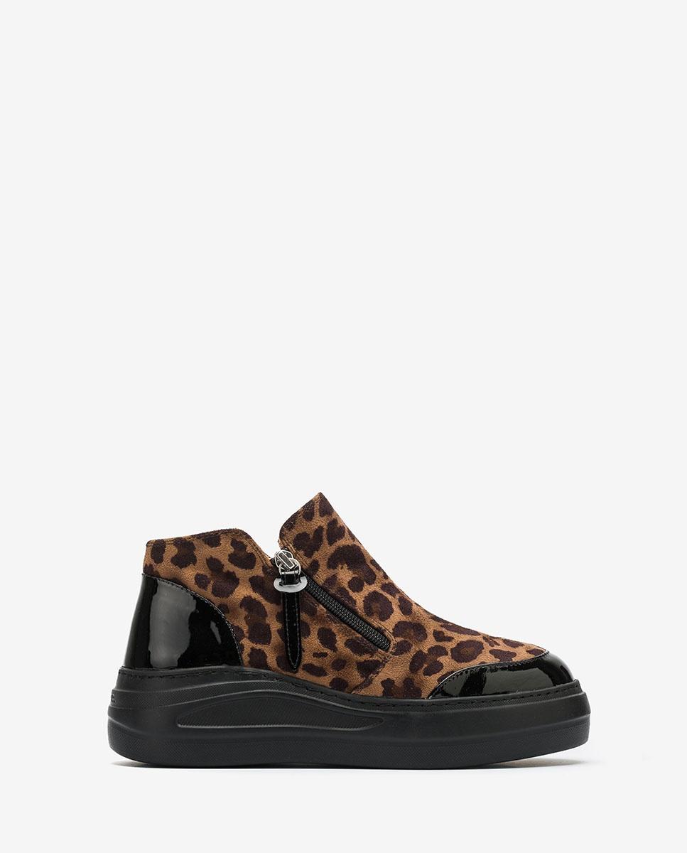 UNISA Chaussures de sport type bottines avec plateforme FAZZIO_SDE_PA leo cumin 3
