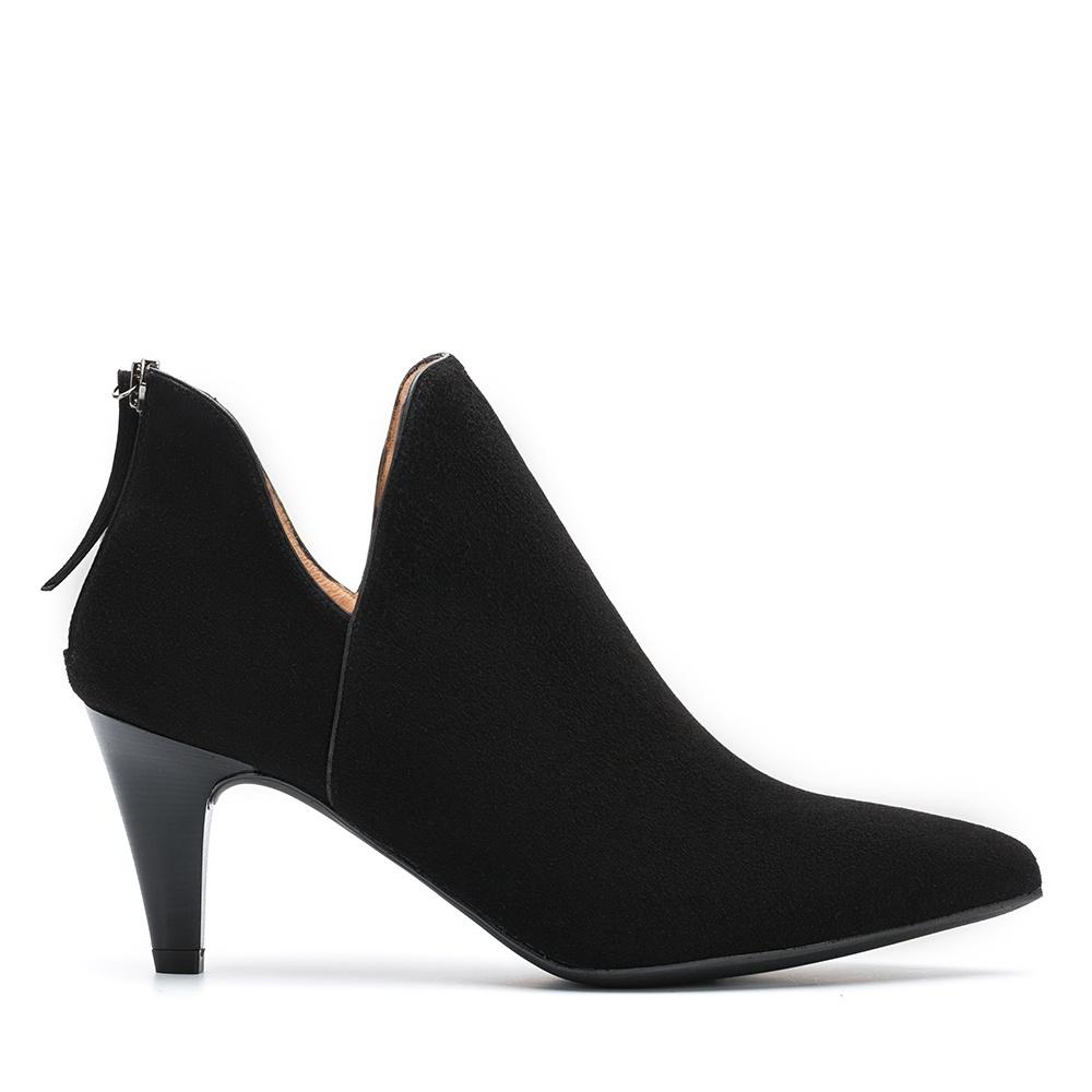UNISA Low boot en daim noir KERTIN_KS black 3