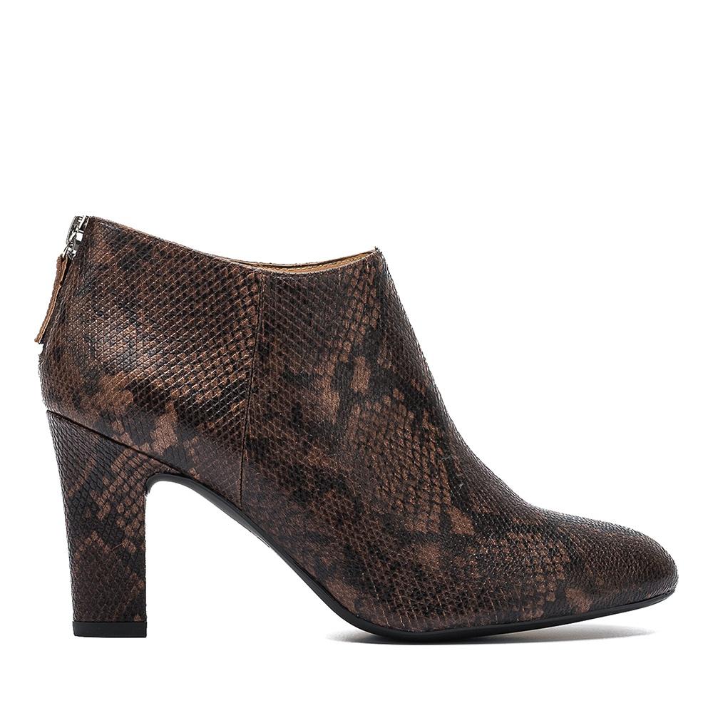 UNISA Low boot cuir effet serpent  UCHI_VP livanto 3