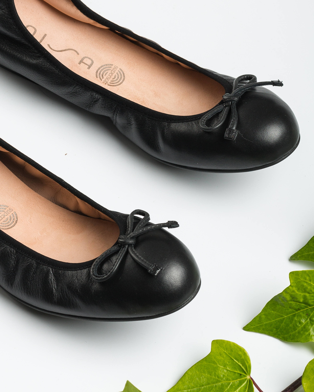 UNISA Ballerine nœud noire ACOR_20_NS black 3