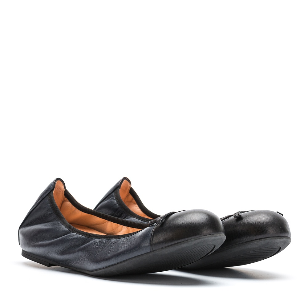 UNISA Ballerine contraste couleur AUTO_F19_NA abyss/blk 3