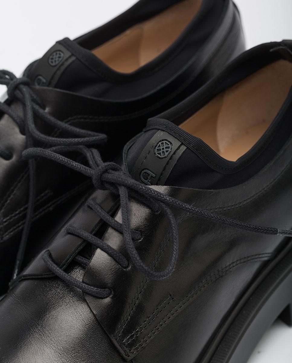 UNISA Chaussures Oxford pour femmes avec plateforme EXTRA_NE black 3