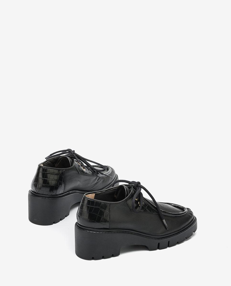 UNISA Chaussures Wallabee semelle track JILITO_CRE black 3