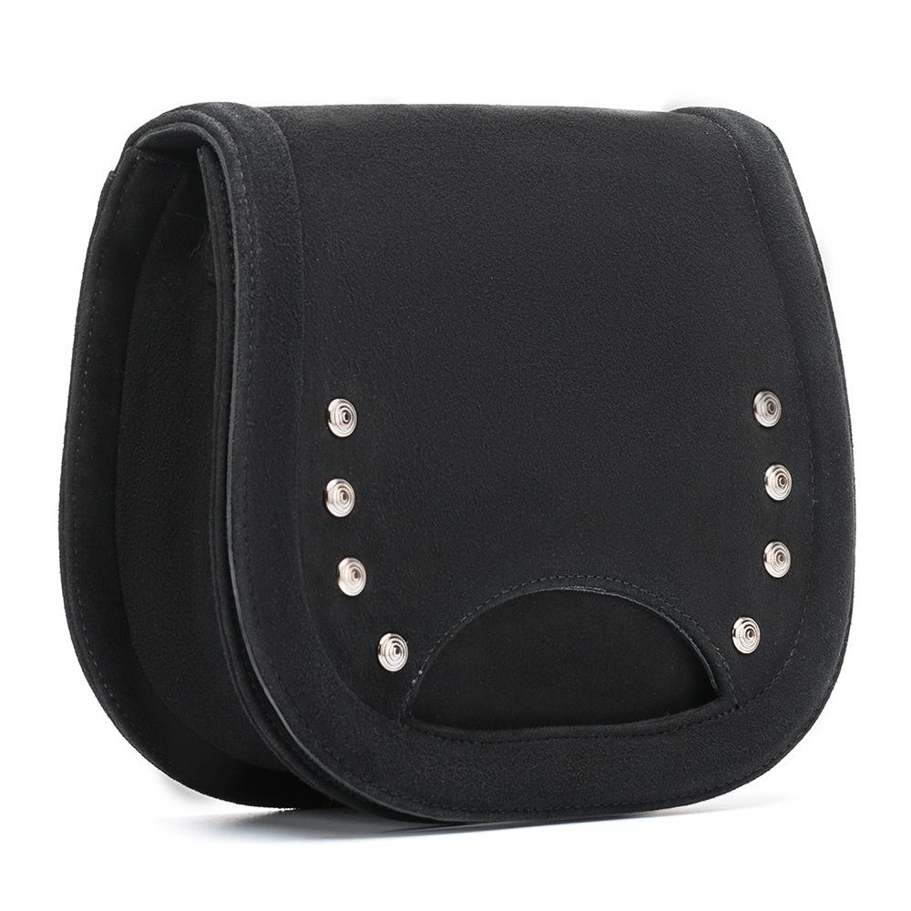 UNISA Bandoulière noire avec clous ZCORILO_KS black 3