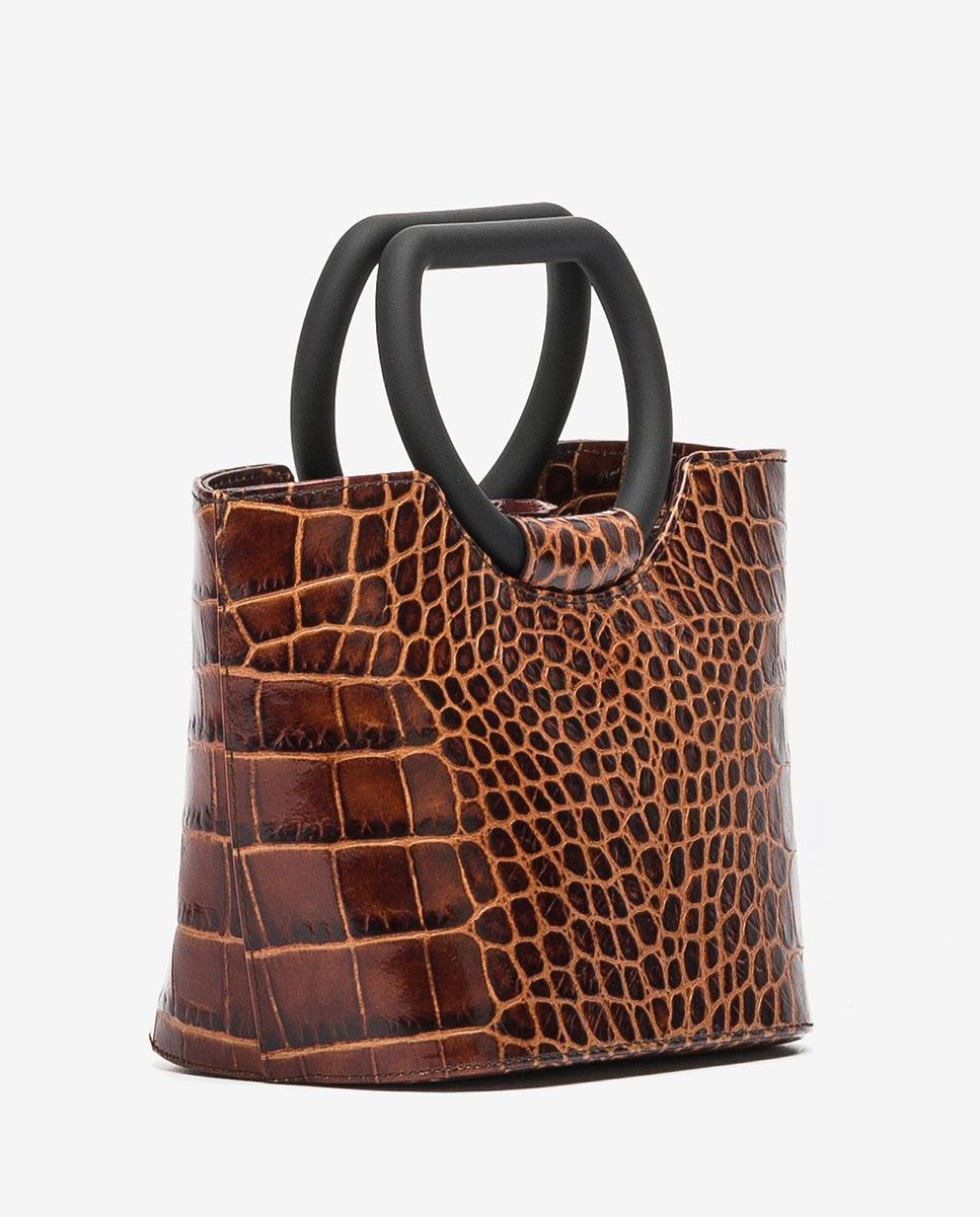 UNISA Petit sac cabas effet crocodile  ZBADET_LAO wonka 3