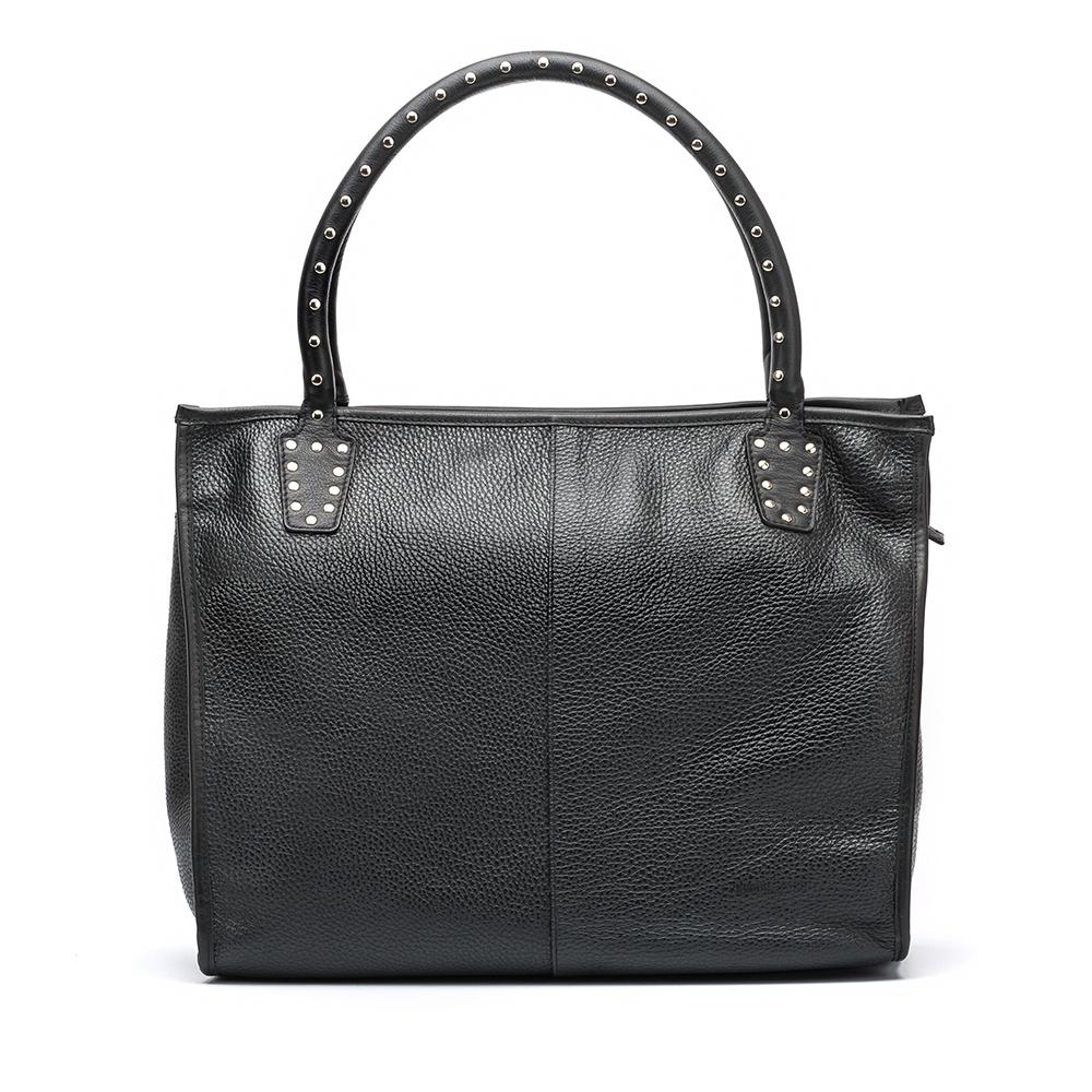 UNISA Tote bag noir avec clous ZTRUS_MM_NT black 3