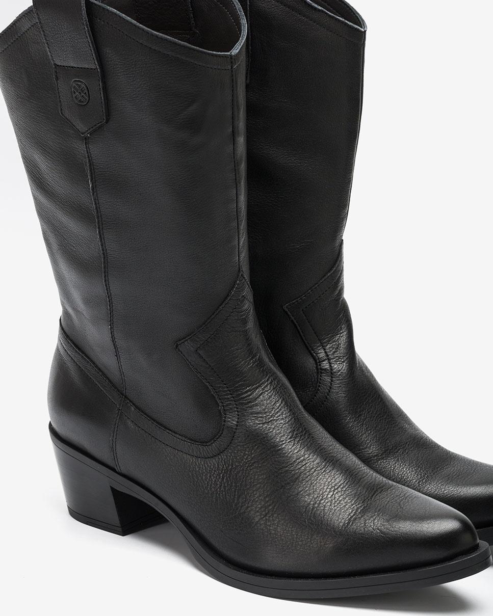 UNISA Bottes cowboy noires GLADIS_F20_CRE black 3