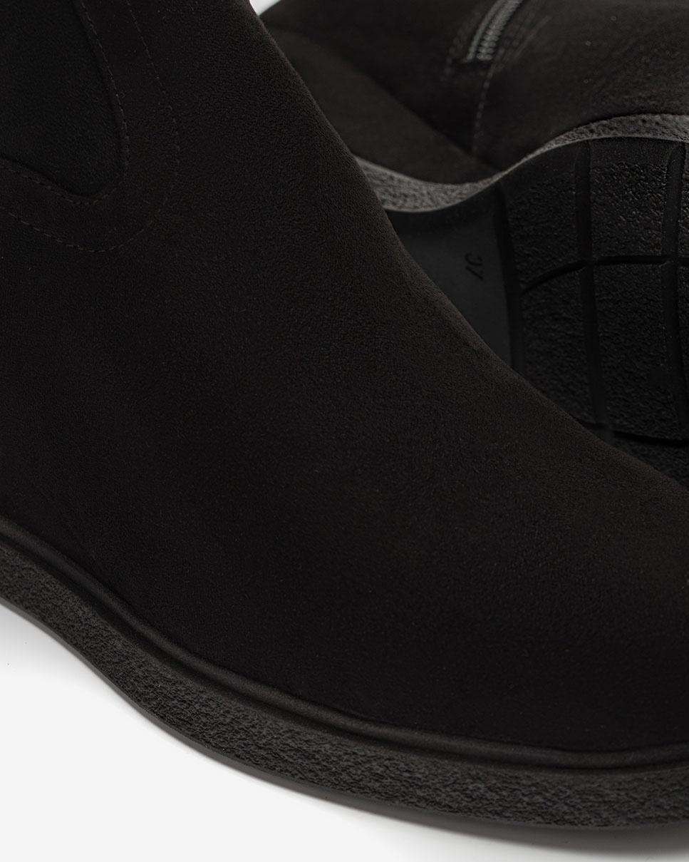 UNISA Bottes mosquetaires avec semelle compensée JUSTI_ST black 3