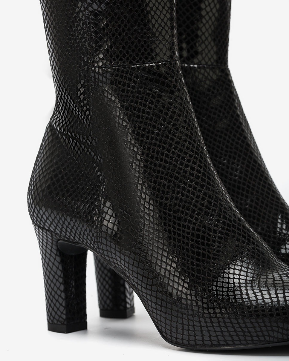 UNISA bottes serpent noires NATALIE_F20_STPY black 3