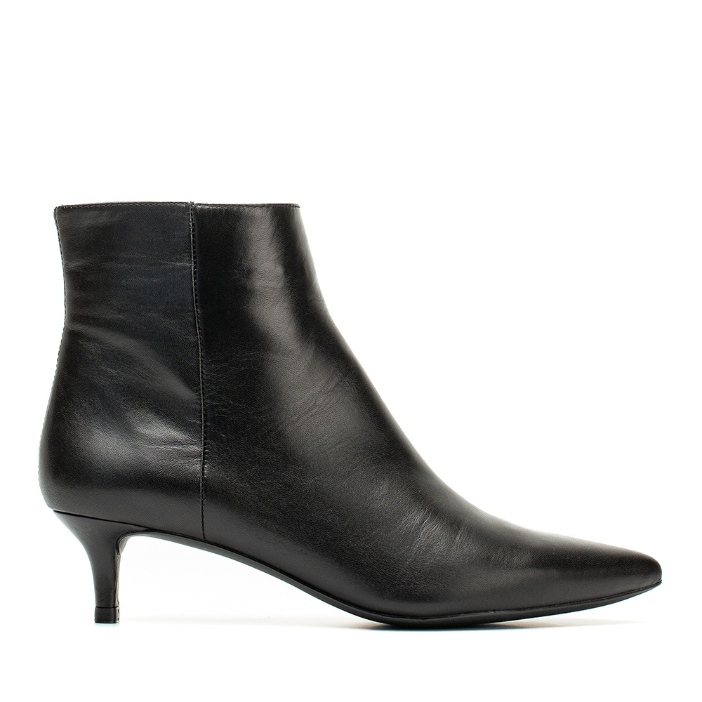 UNISA Bottine cuir kitten heel JATI_F19_NA black 3