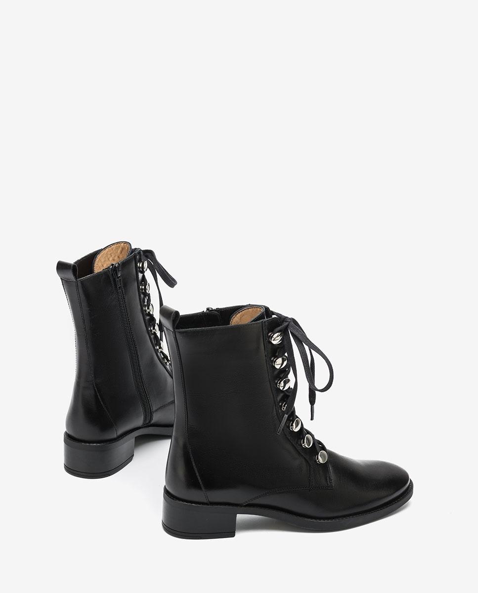 UNISA Bottines noires  lacets EUGEN_F20_NE black 3