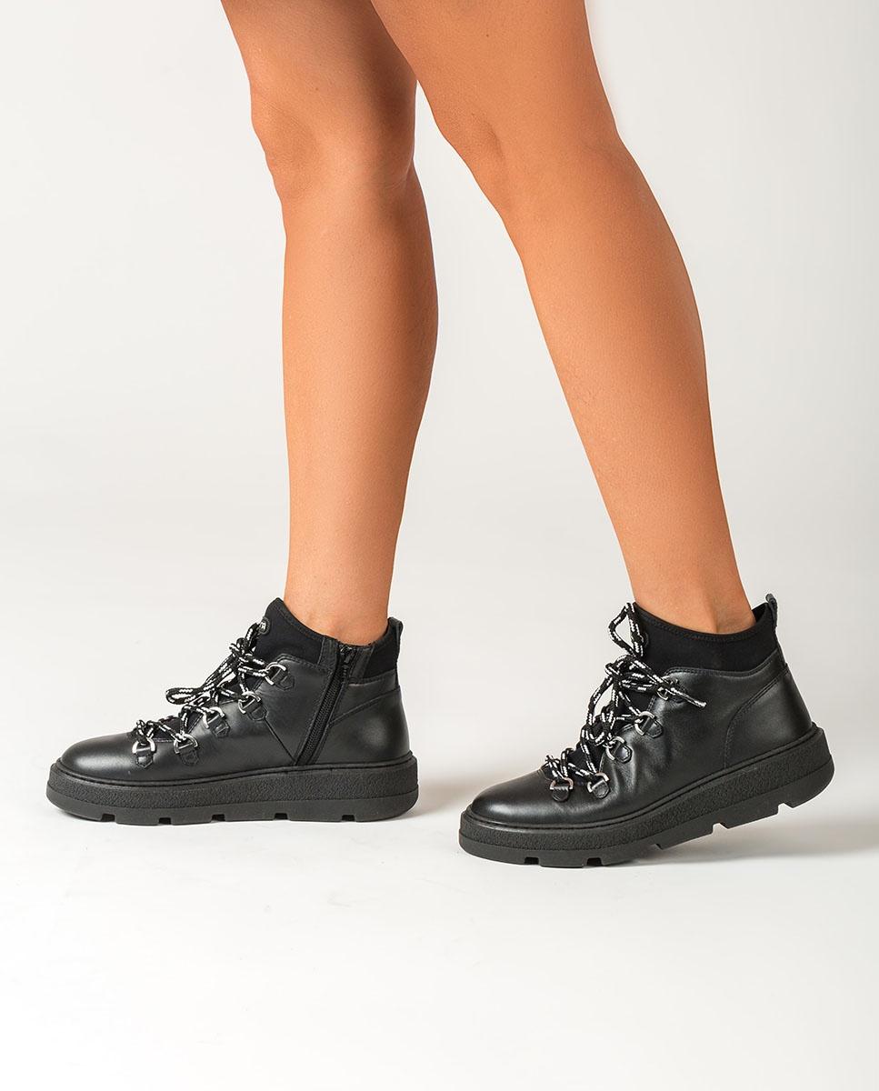 UNISA Bottes de randonnée noires pour femmes FEISER_NF black 3
