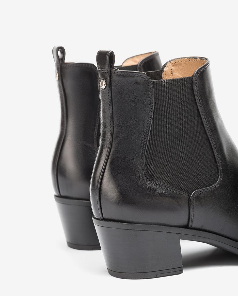 UNISA Bottines cowboy chelsea noires GREYSON_F20_NE black 3