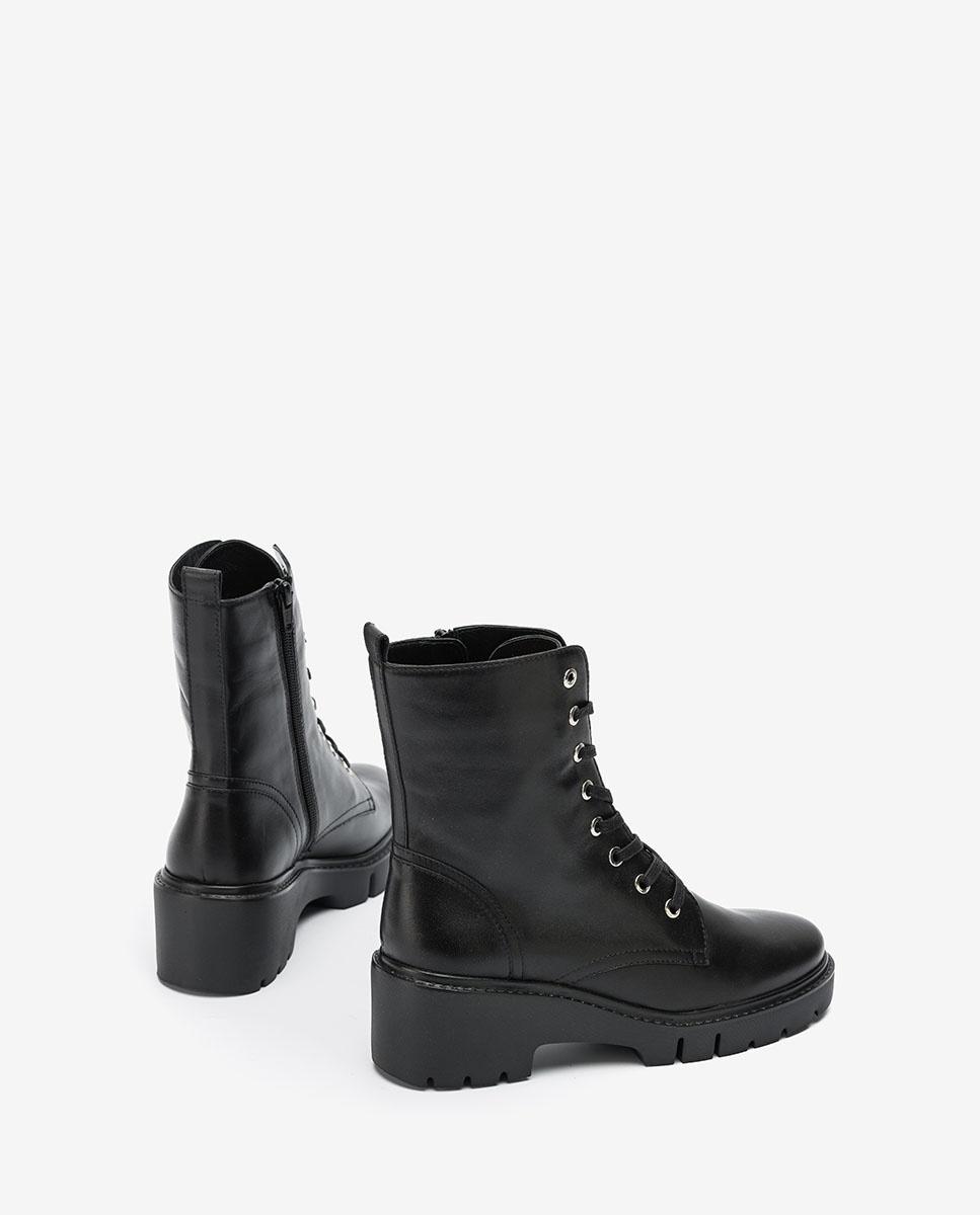 UNISA Bottines militaires noires JRISO_VU black 3