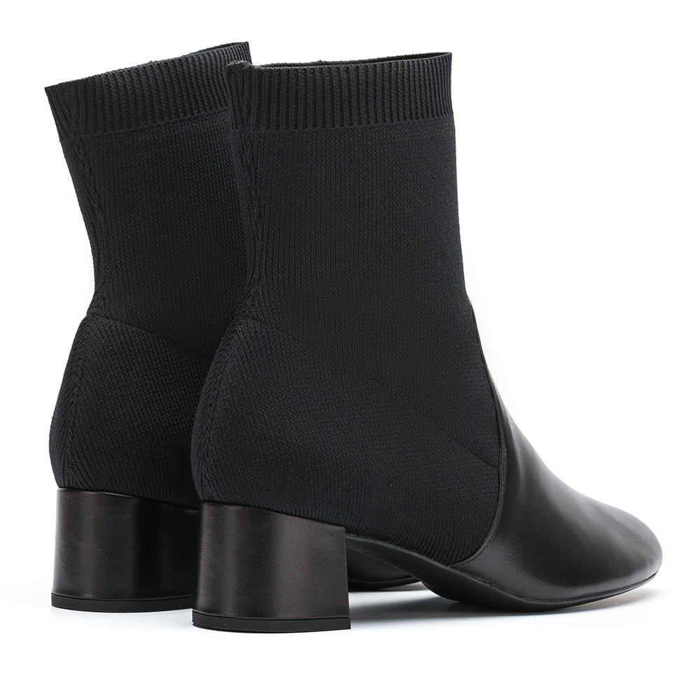 UNISA Bottine contraste chaussette  LACHI_NA black 3
