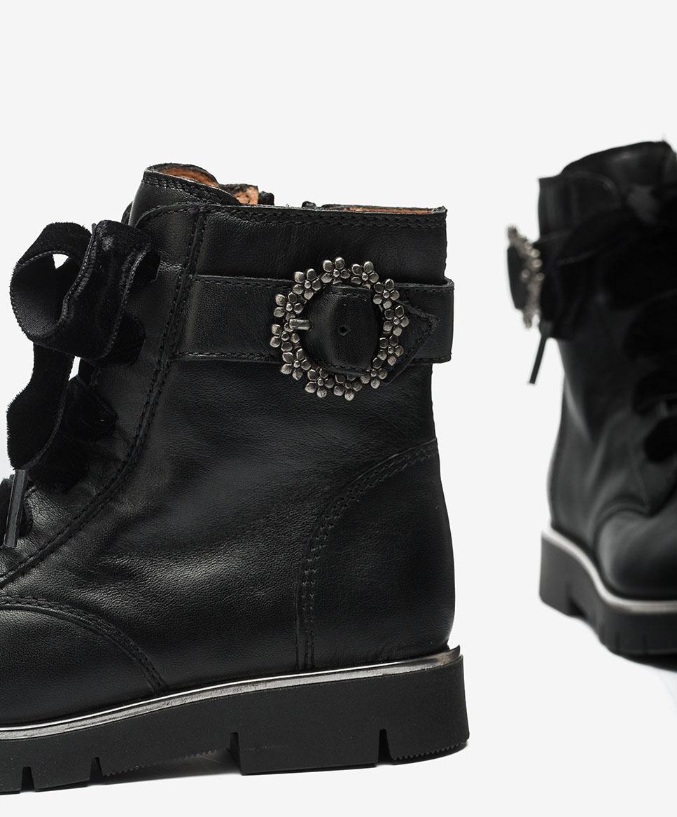 Unisa Bottines LARUS_F20_CLF black