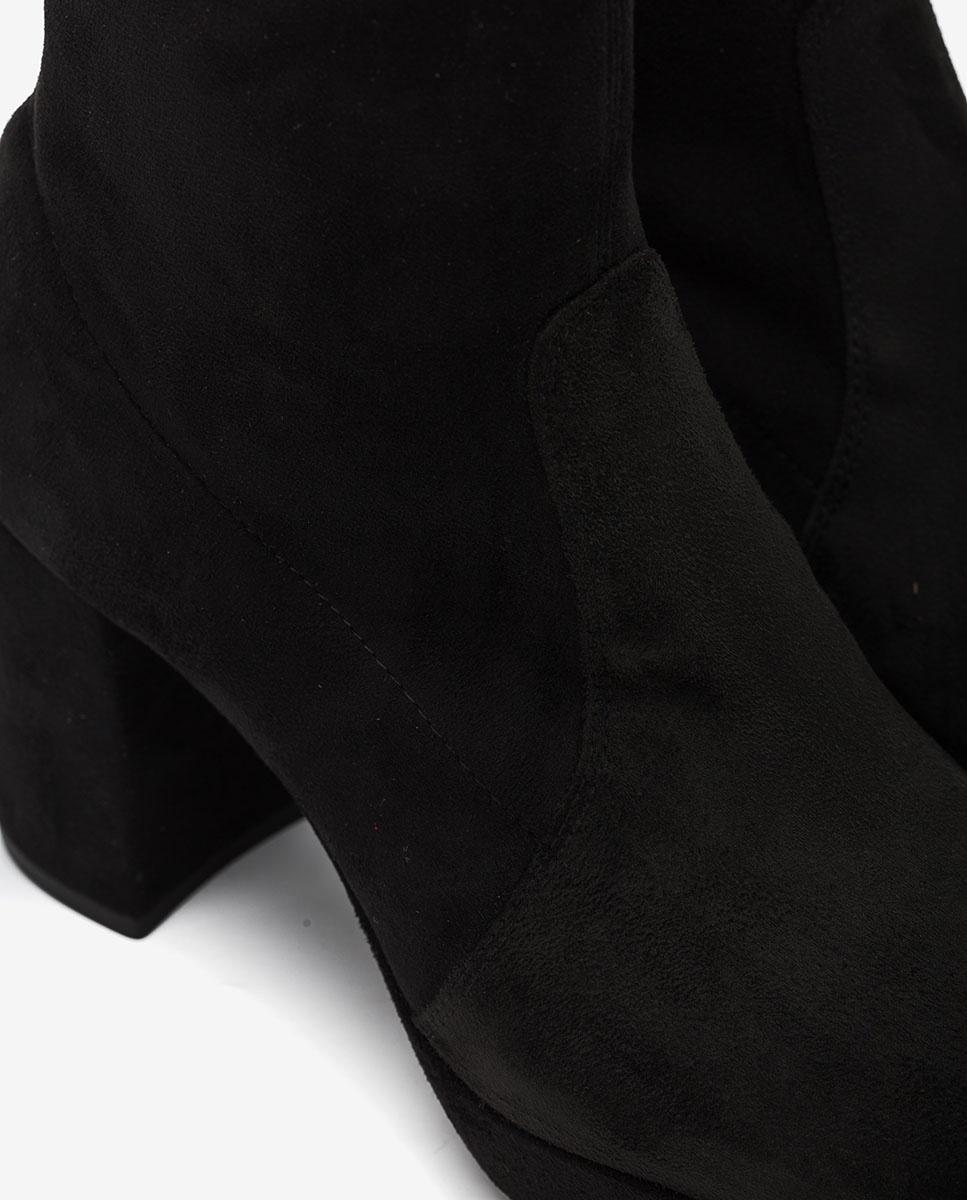 UNISA Bottines strech 70's MAHALI_STL black 3