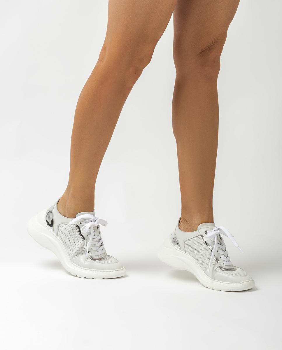 UNISA Chaussure de sport cuir semelle volume ESTAN_NF ivory 3