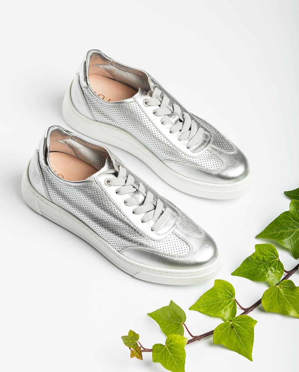 UNISA Chaussure de sport contraste perforations FABIO_NF_SP silver 3