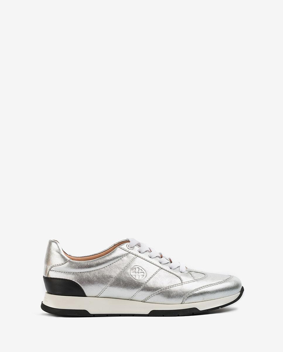 UNISA Chaussure de sport métallisée FALCONI_LMT silver 3