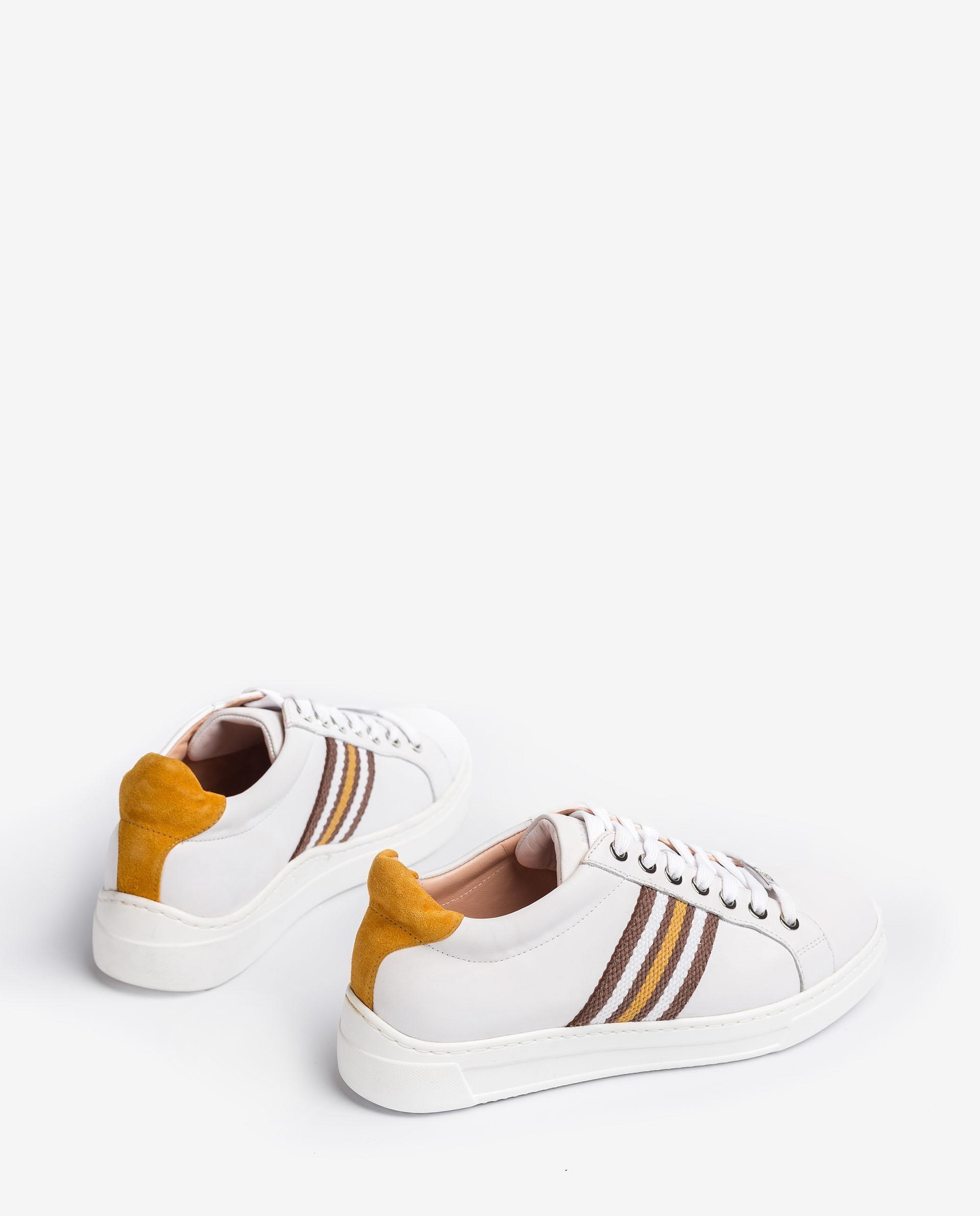 UNISA Chaussure de sport en cuir avec bandes multicolores  FAROLA_21_NF 3