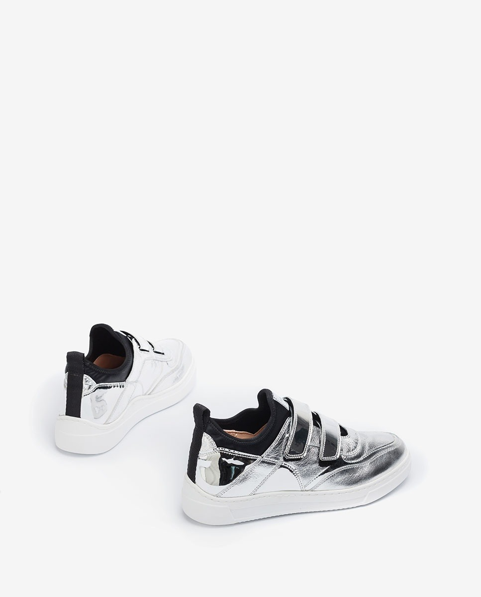 UNISA Chaussures de sport argentées FEDISA_MER silver 3