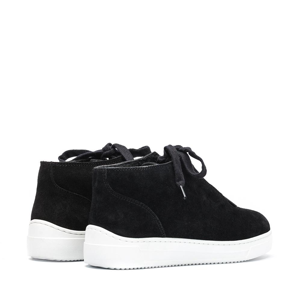 UNISA Chaussure de sport montante lacets FINIS_BS black 3