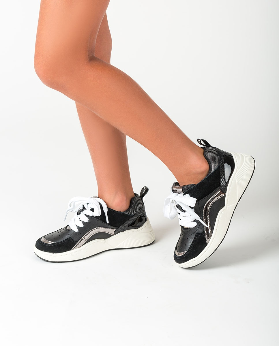 UNISA Chaussure de sport fille contraste HIKO_F20_ESS black 3