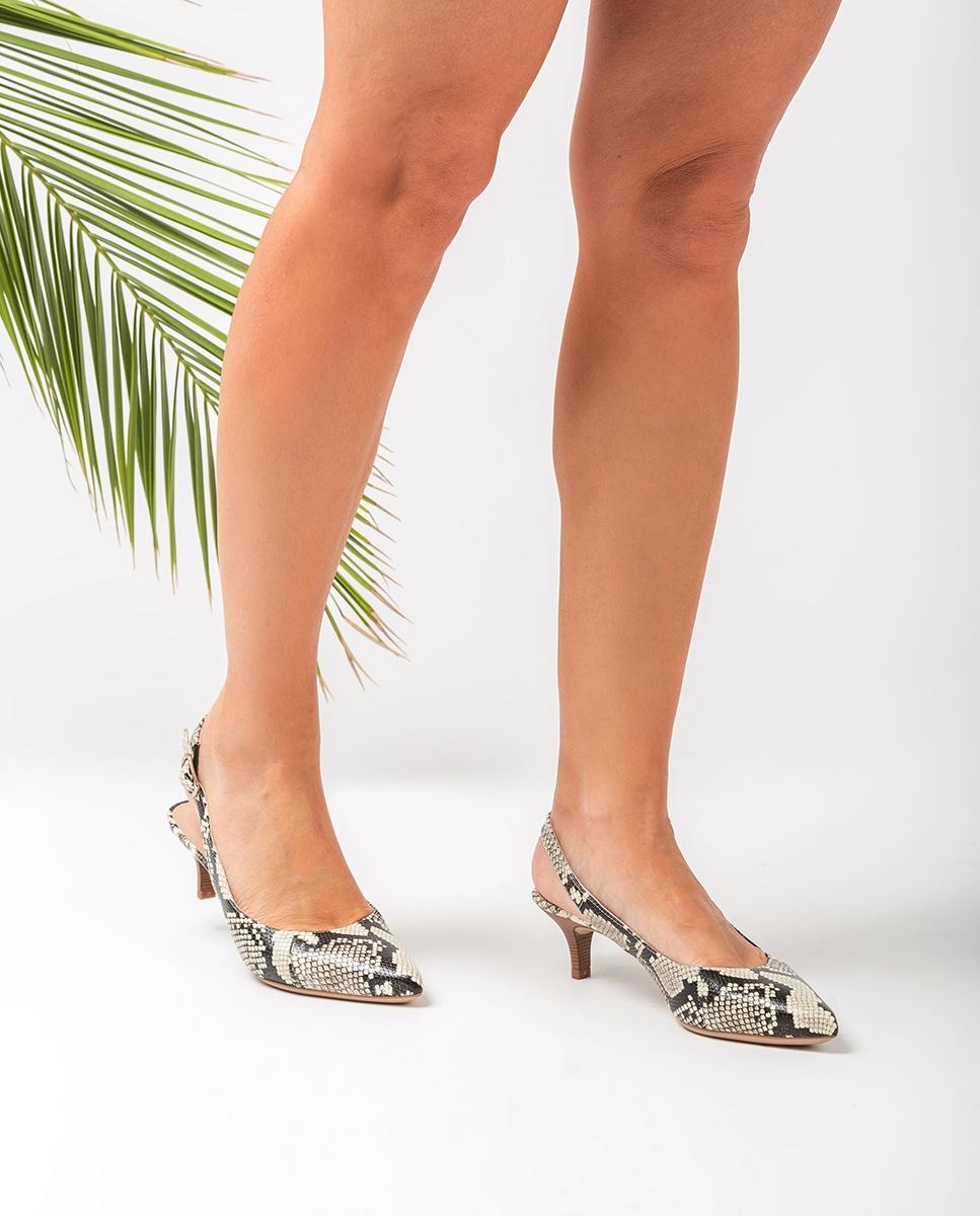 UNISA Chaussure ouverte serpent bout pointu JAMAL_VIP nacar 3
