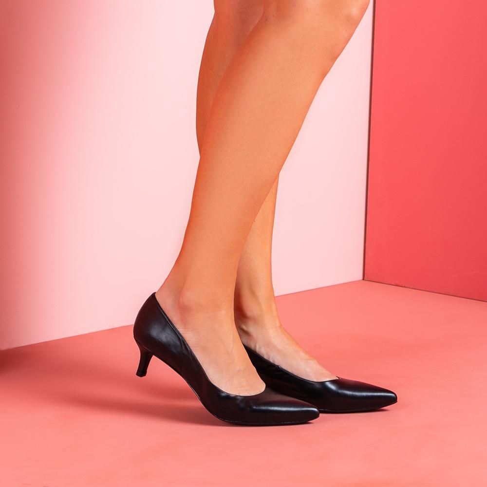 UNISA Escarpin kitten heel JIRON_F19_NA black 3