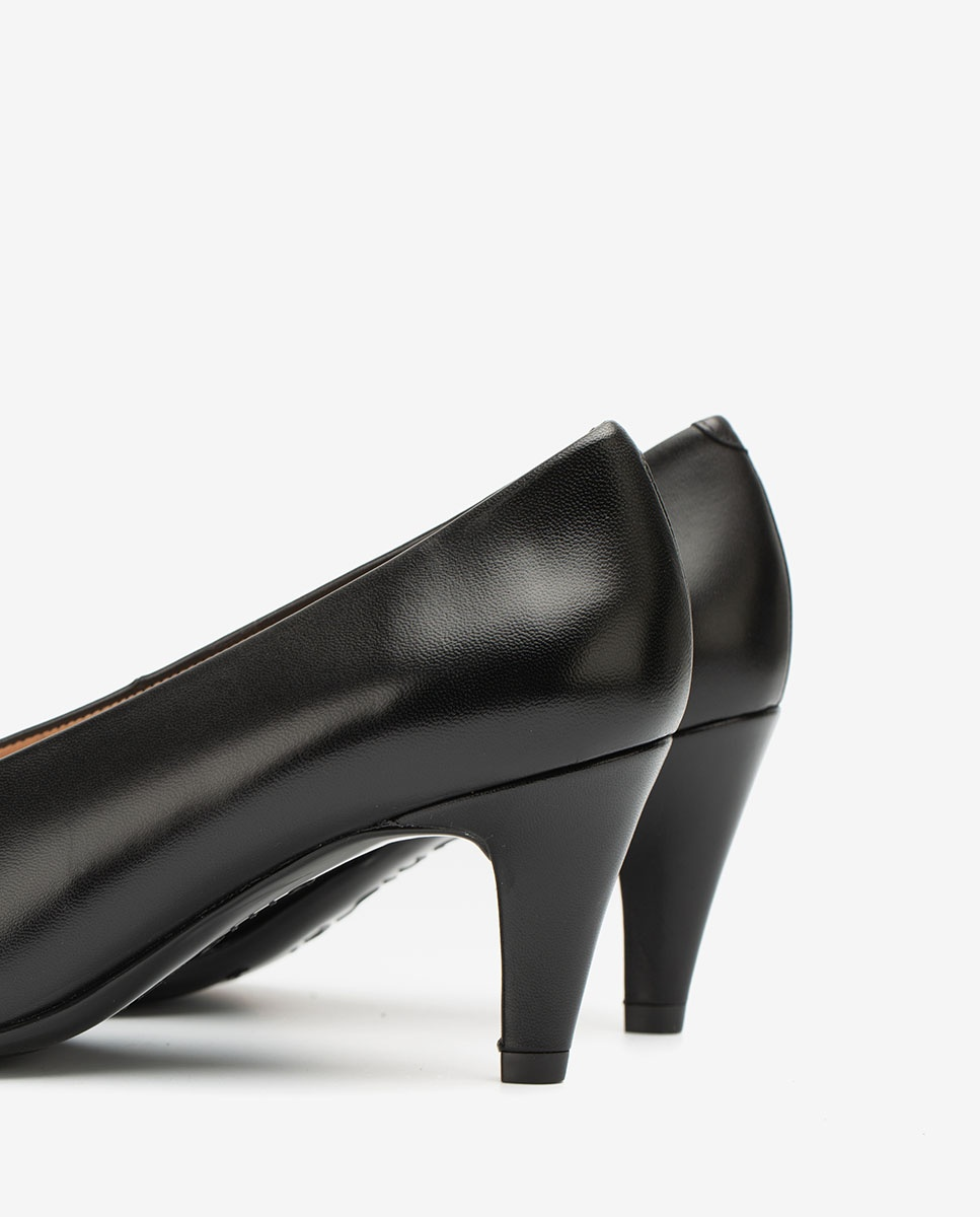 UNISA Escarpins noirs découpe haute KAPELA_NA black 3